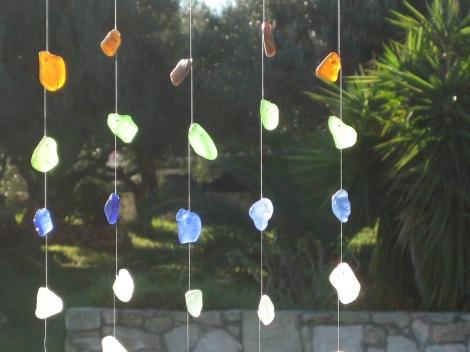 sea glass decoration