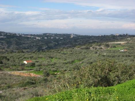 View in Crete