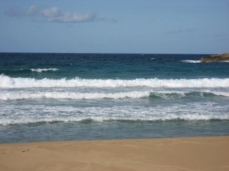 Greek sandy beach