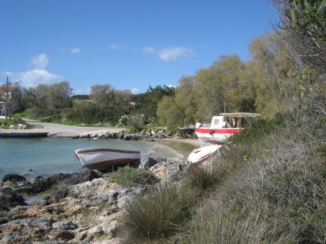 Tersanas beach